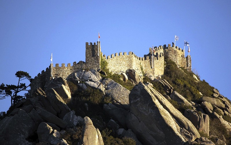 Замок в Синтре