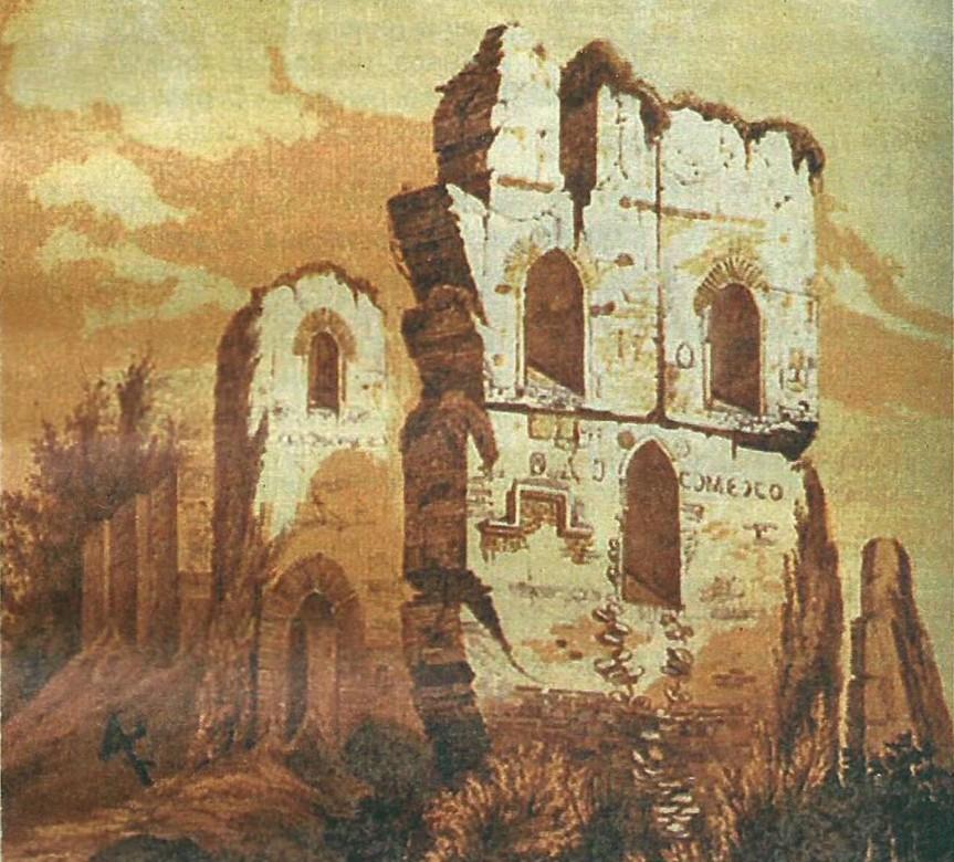 Первый храм древней Руси