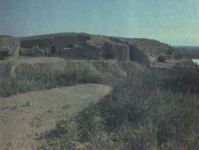 Древний некрополь ферганцев