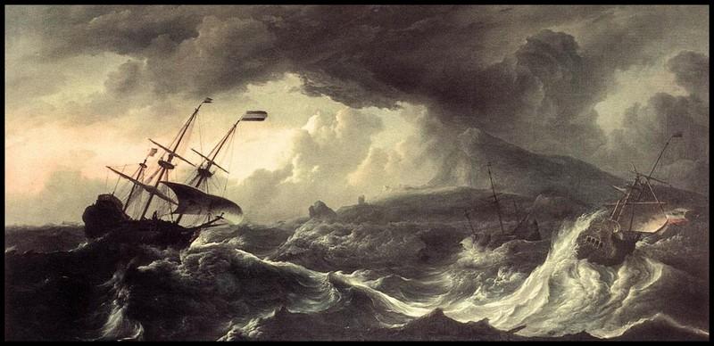 корабли_в_шторме