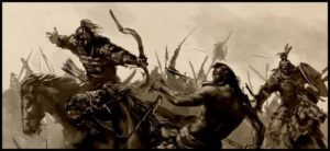 монгольские_всадники