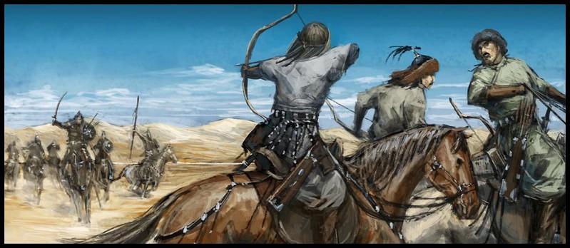 монгольский_конный_лучник