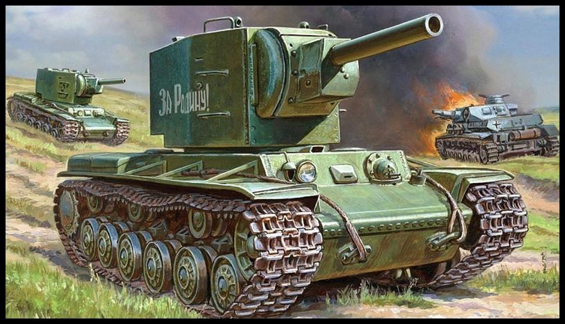 танк_кв_2_tank_kv_2