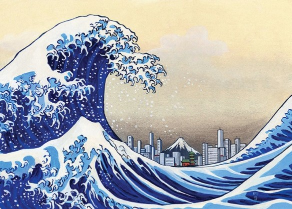 цунами_япония