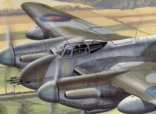 Деревянное чудо британских ВВС