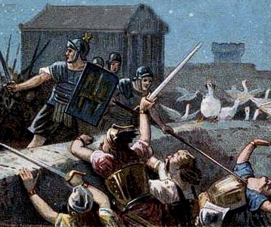 Первые стражники Рима