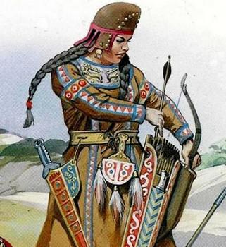 Царица сарматов Амага
